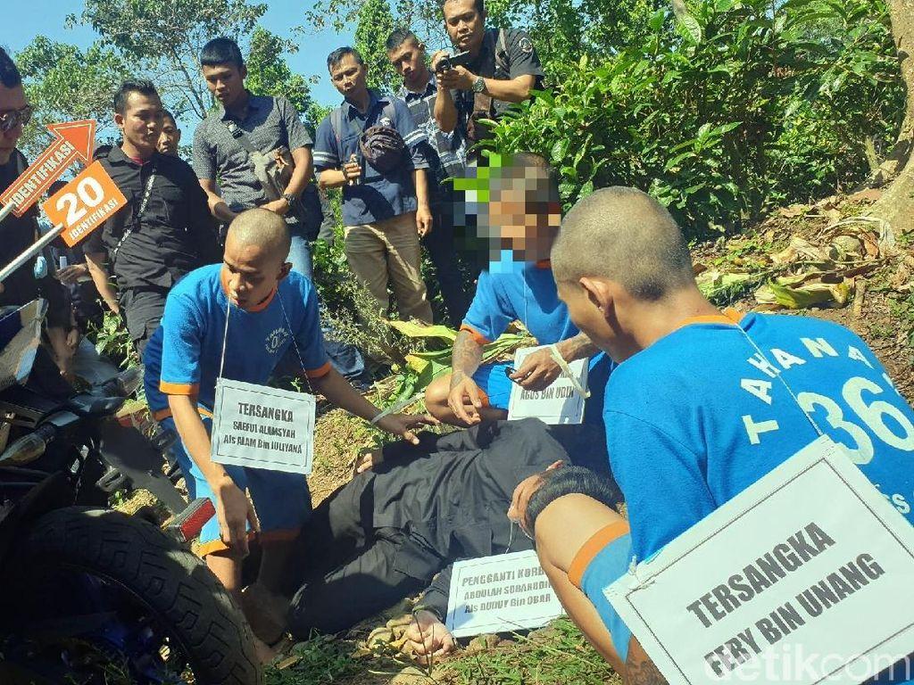 Punya Azimat, Korban Pembunuhan di Cianjur Sempat Kebal Dibacok