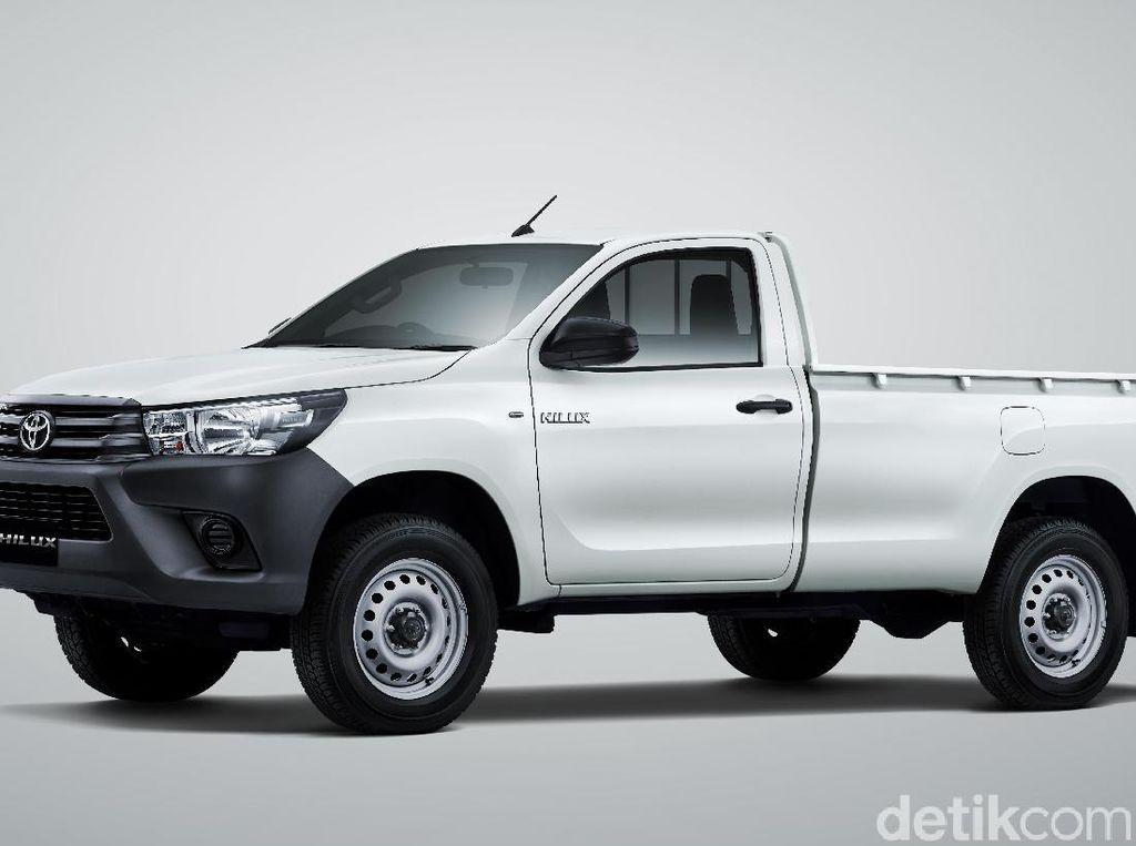 Mesin Toyota Hilux Baru dan Lebih Efisien