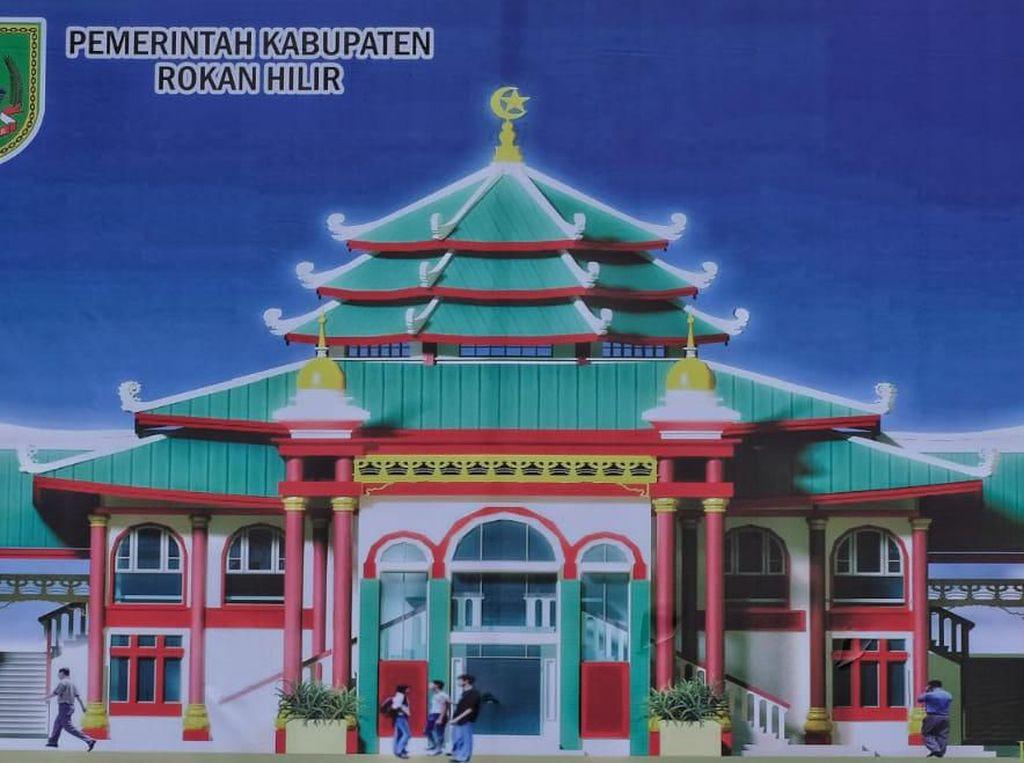 Masjid Muhammad Cheng Ho Akan Dibangun di Bagansiapiapi