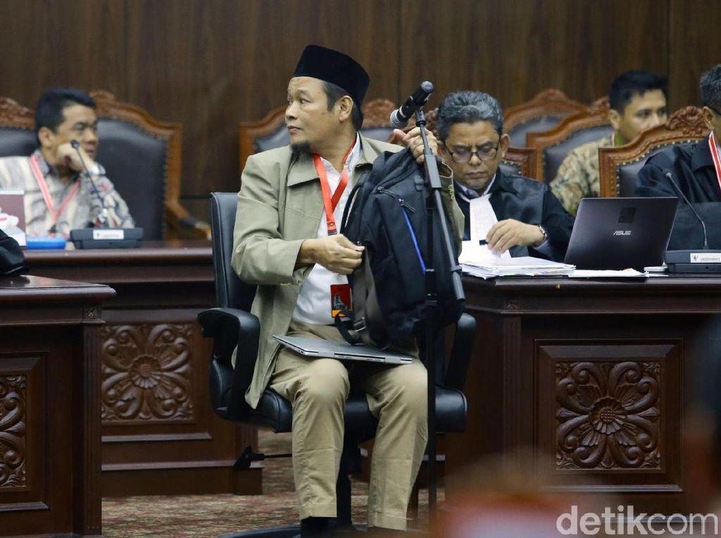Saksi Agus dari Tim Prabowo Juga Sekretaris Relawan #2019GantiPresiden