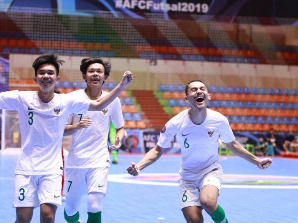 Perjalanan Gemilang Timnas Indonesia di Piala Asia Futsal U-20 2019