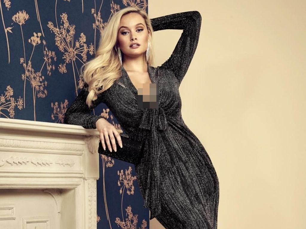 Simone Holtznagel, Mantan Model Playboy yang Mengeluh karena Payudara Besar