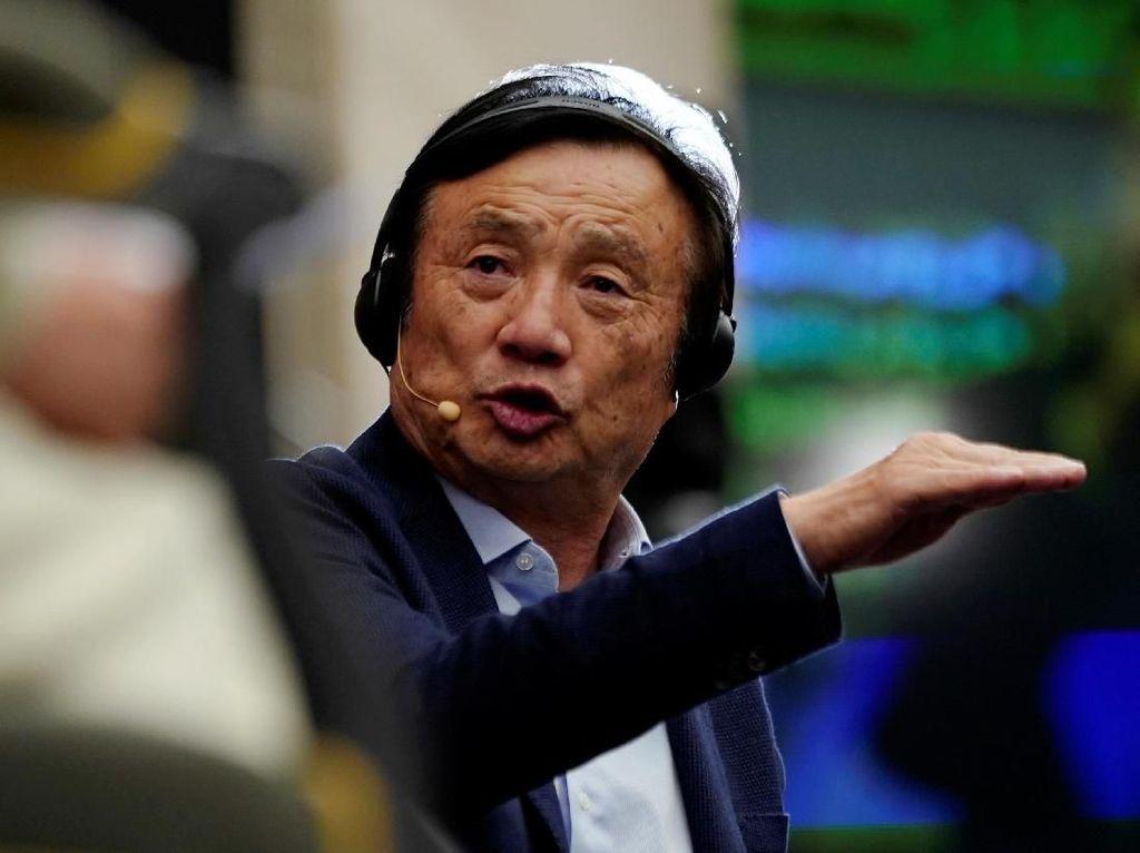 Pendiri Huawei Bilang Sanksi AS Perkara Hidup dan Mati