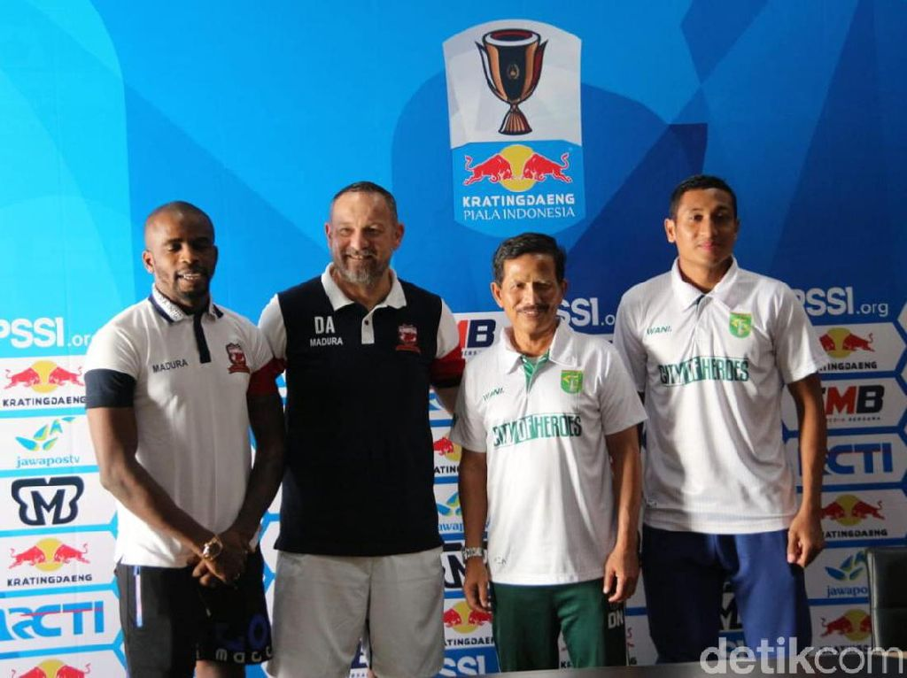 Madura United Siap Putus Tren Negatif Lawan Persebaya