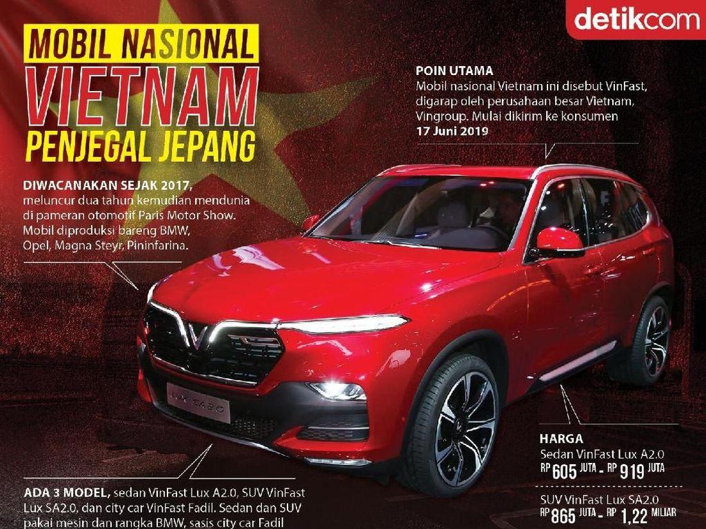 Mobil Vietnam Siap Jegal Jepang