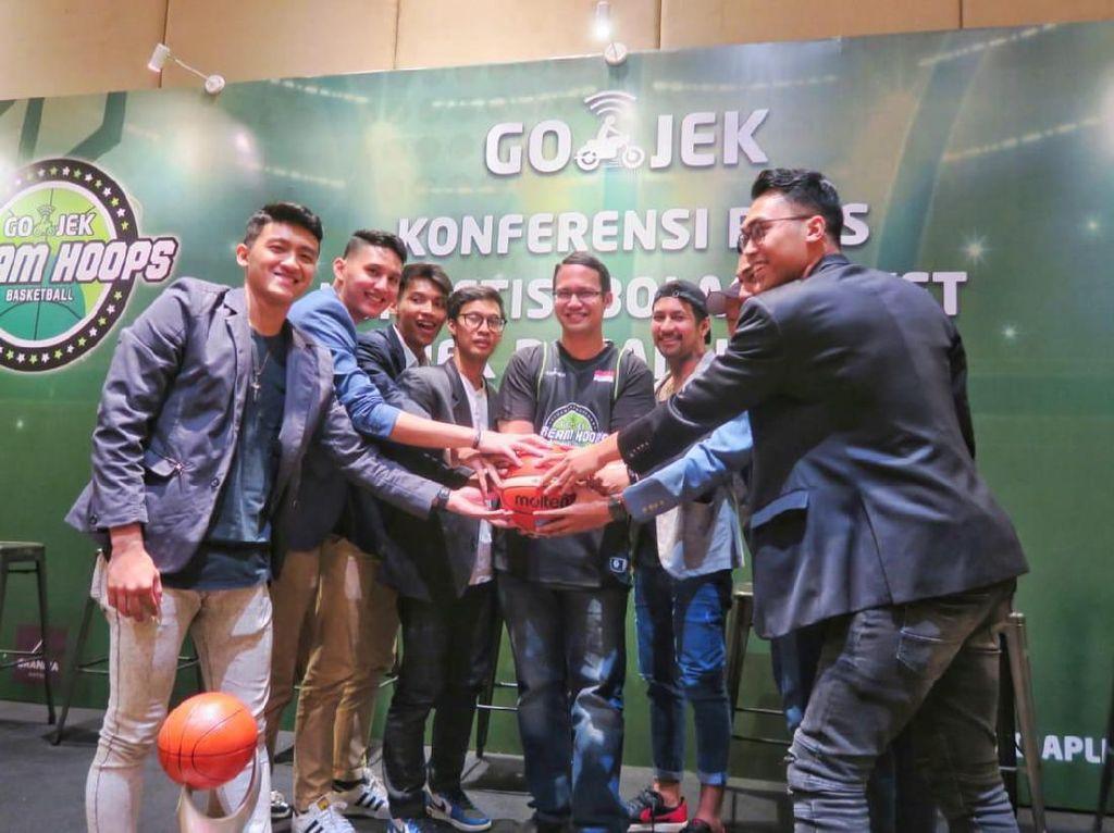 Pemain IBL Dukung Go-Jek Cari Bibit Baru Atlet Basket