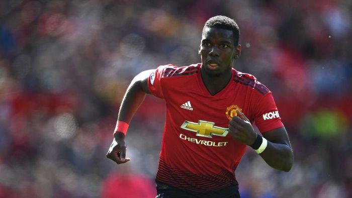 Paul Pogba digosipkan ingin meninggalkan Manchester United (Foto: Stu Forster/Getty Images)