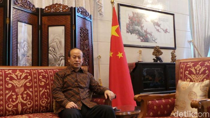 Duta Besar China untuk Indonesia Xiao Qian/Foto: Danang Sugianto-detikFinance
