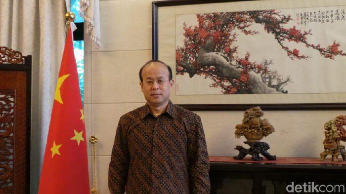 Foto: Duta Besar China untuk Indonesia Xiao Qian. Foto: Danang Sugianto-detikFinance