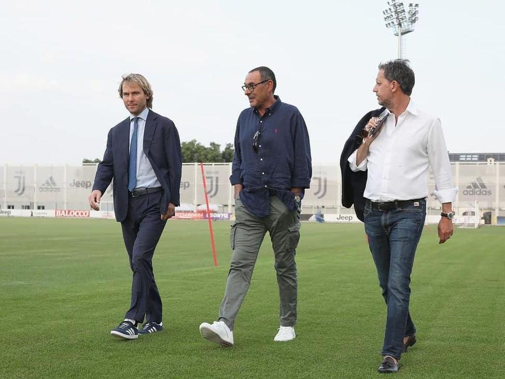 Ke Juventus, Kapan Sarri Mulai Berniat Tinggalkan Chelsea?