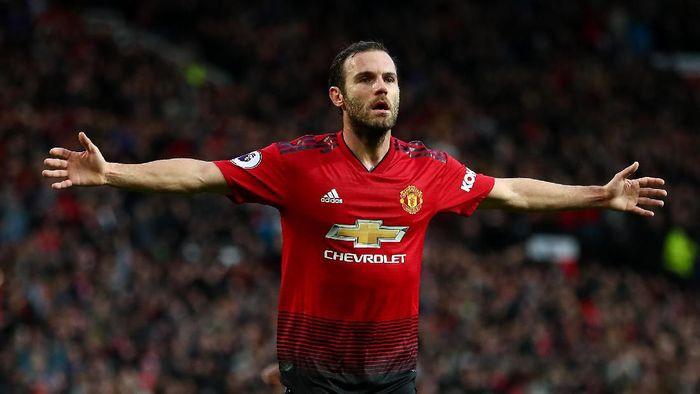 Juan Mata akan di Manchester United sampai 2021. (Foto: Clive Brunskill/Getty Images)