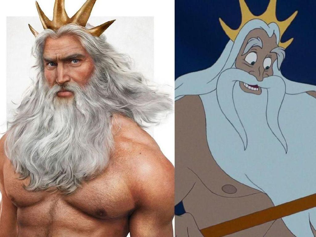Inikah Tampang Para Ayah Disney di Kehidupan Nyata?