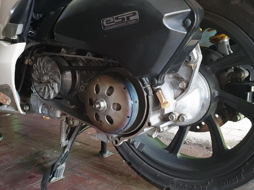 Begini Trik Tambah Tarikan Motor Matik CVT