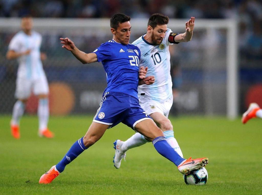 Lionel Messi Bikin Gol, tapi Argentina Kembali Gagal Menang