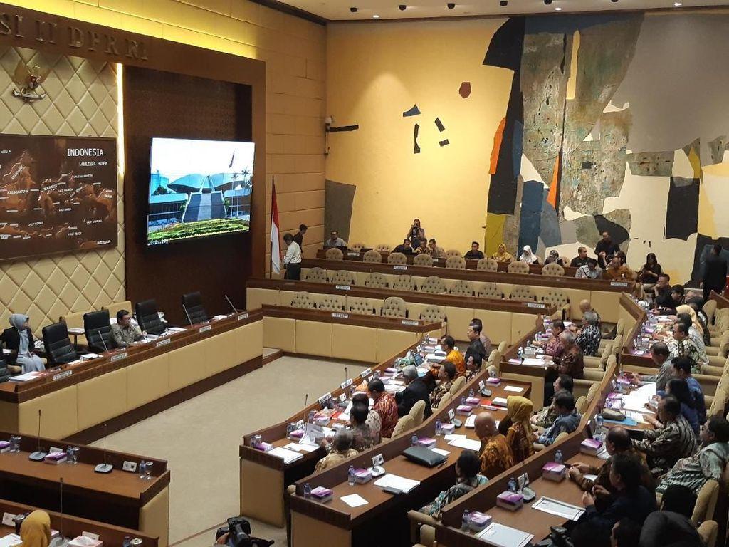 Komisi II Bersama KPU-Bawaslu Kembali Rapat Evaluasi Pemilu 2019