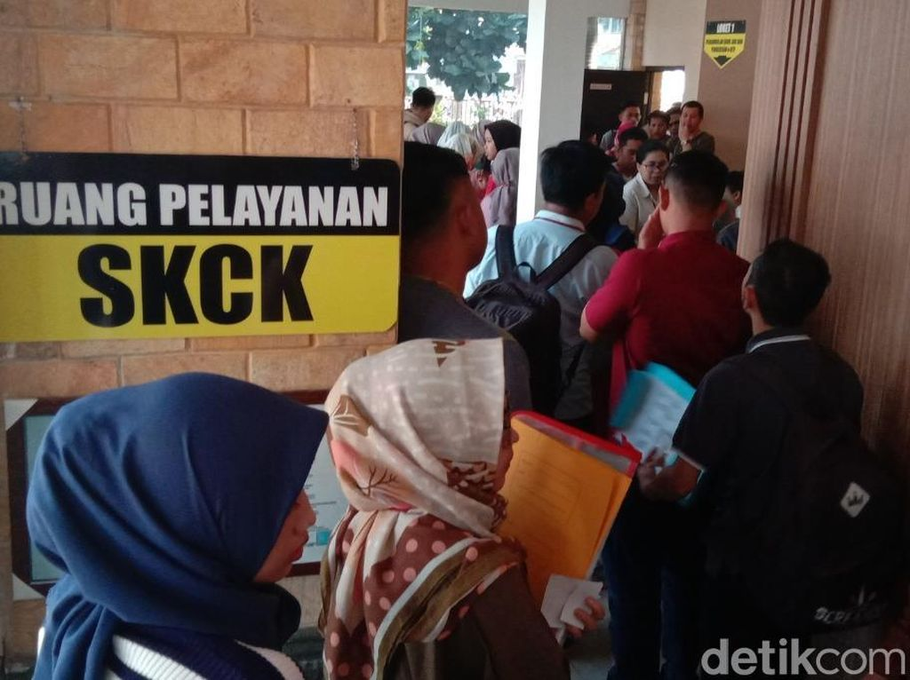 Pemohon SKCK di Mapolres Bandung Mayoritas Pencari Kerja