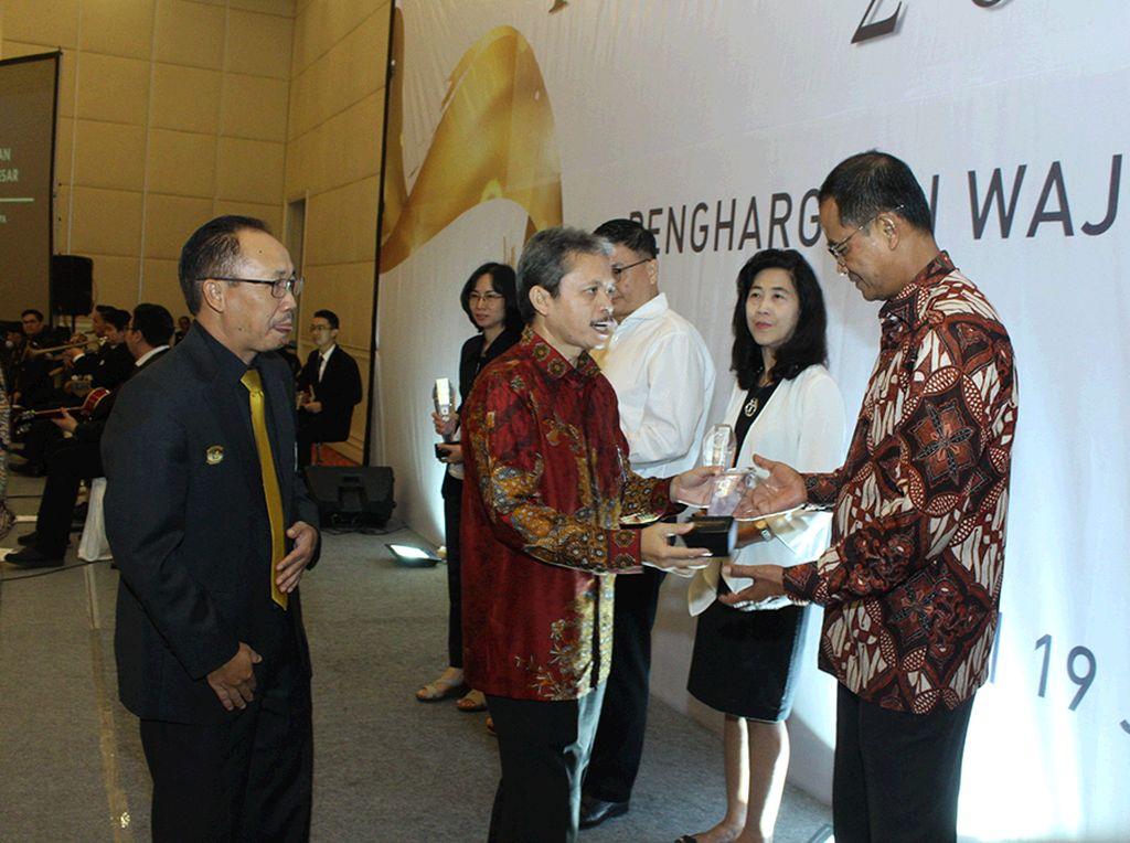 Penghargaan DJP untuk Wajib Pajak Besar