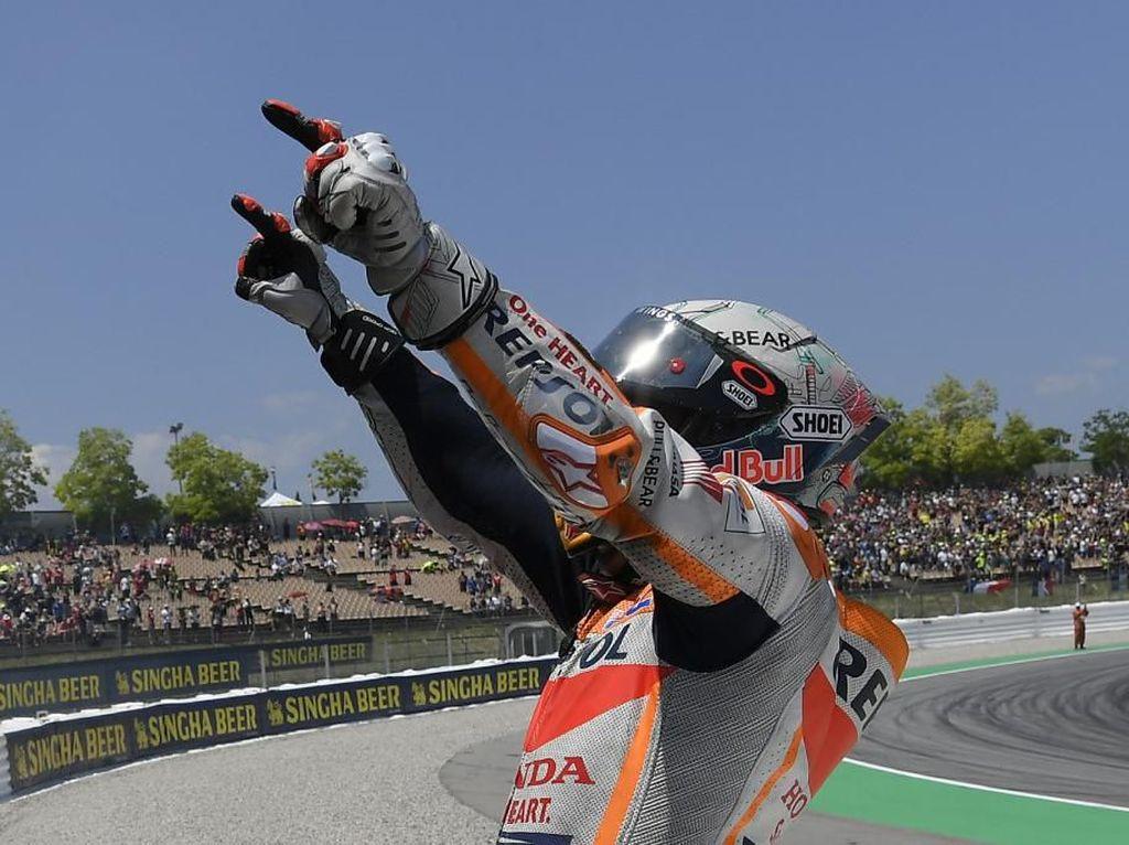 Unggul Jauh dari Rival-rivalnya, Marquez: Persaingan Belum Selesai