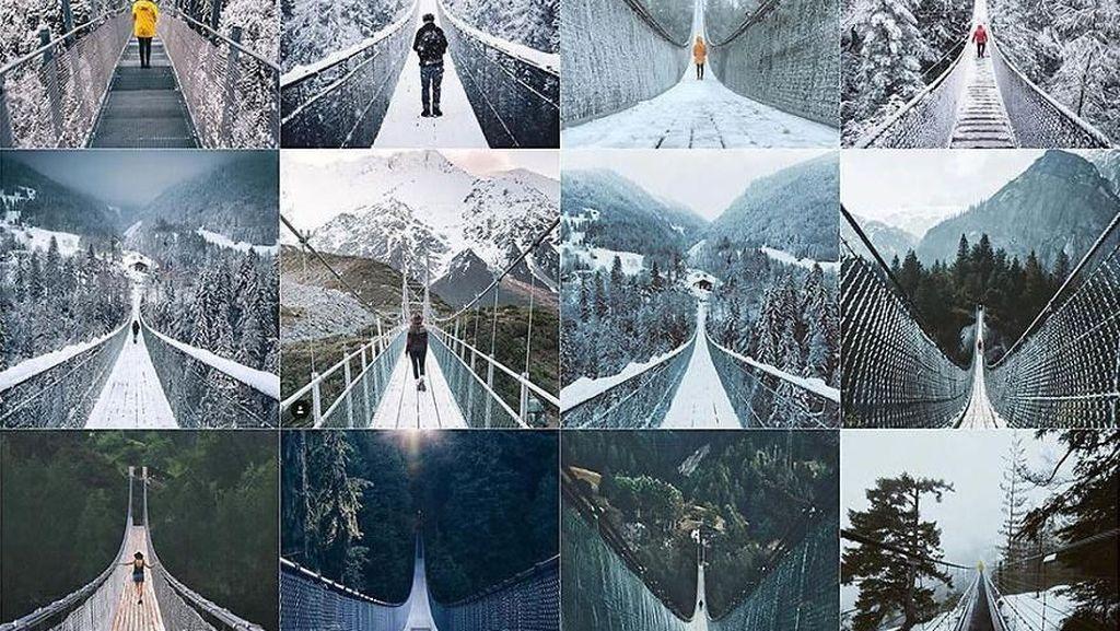 Pengguna Instagram Tak Unik, Posting Fotonya Nyaris Identik