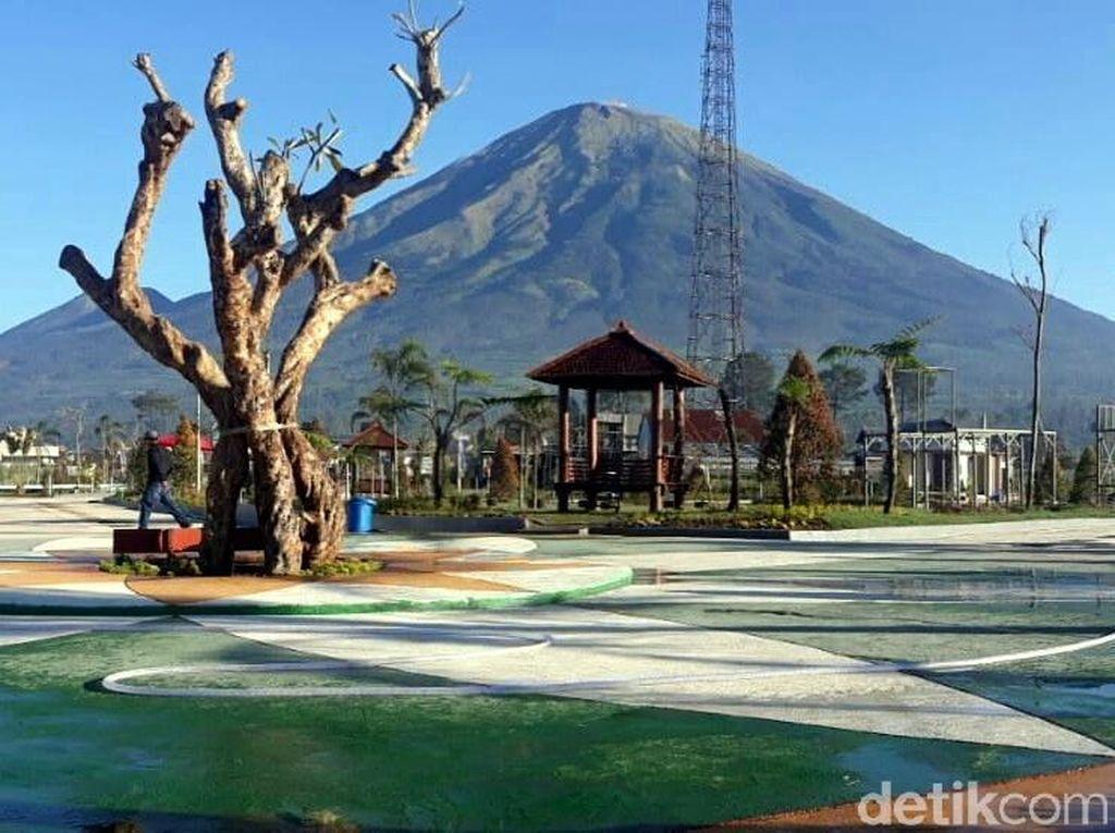 Foto: Libur Sekolah, Ada Taman Rekreasi Asyik di Wonosobo