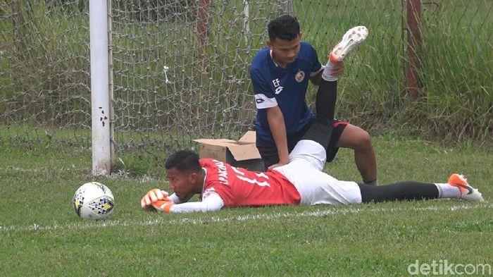 Pemain Semen Padang, Teja Paku Alam. (Foto: Jeka Kampai/Detikcom)
