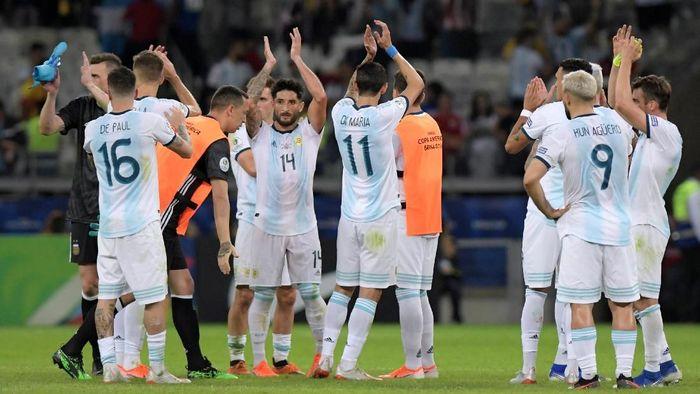 Argentina baru mengumpulkan satu poin dari dua laga grup Copa America 2019. (Foto: Washington Alves / Reuters)