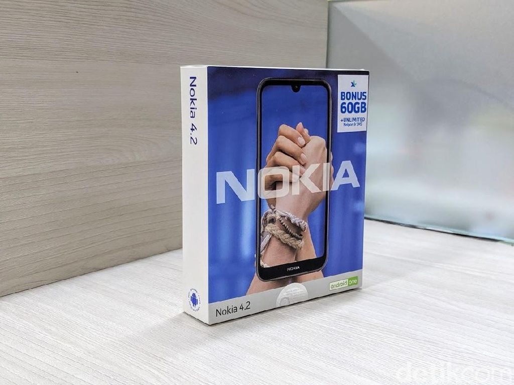 Unboxing Nokia 4.2, Ponsel Android One Harga Rp 2 Jutaan
