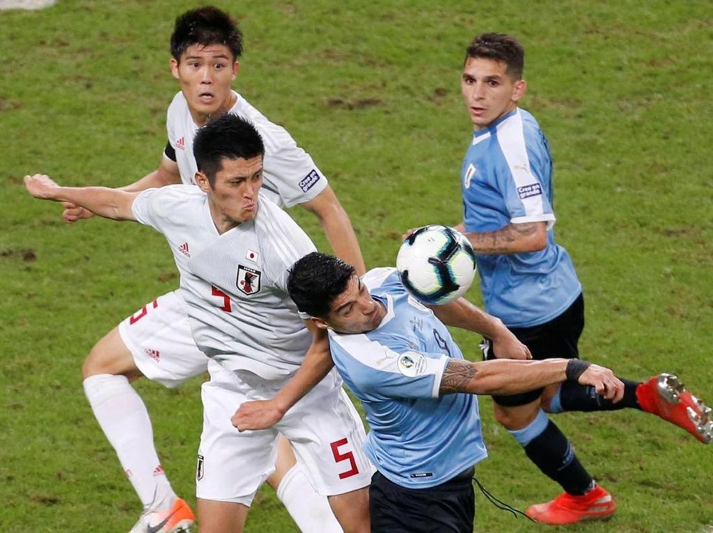 Hasil Copa America: Uruguay Ditahan Imbang Jepang 2-2