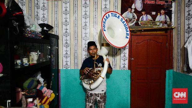 Orkes Tanjidor Betawi, Pengiring Dansa Para Tuan Tanah