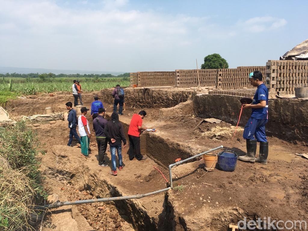 Ini Fungsi Pagar Majapahit Temuan Perajin Bata di Mojokerto