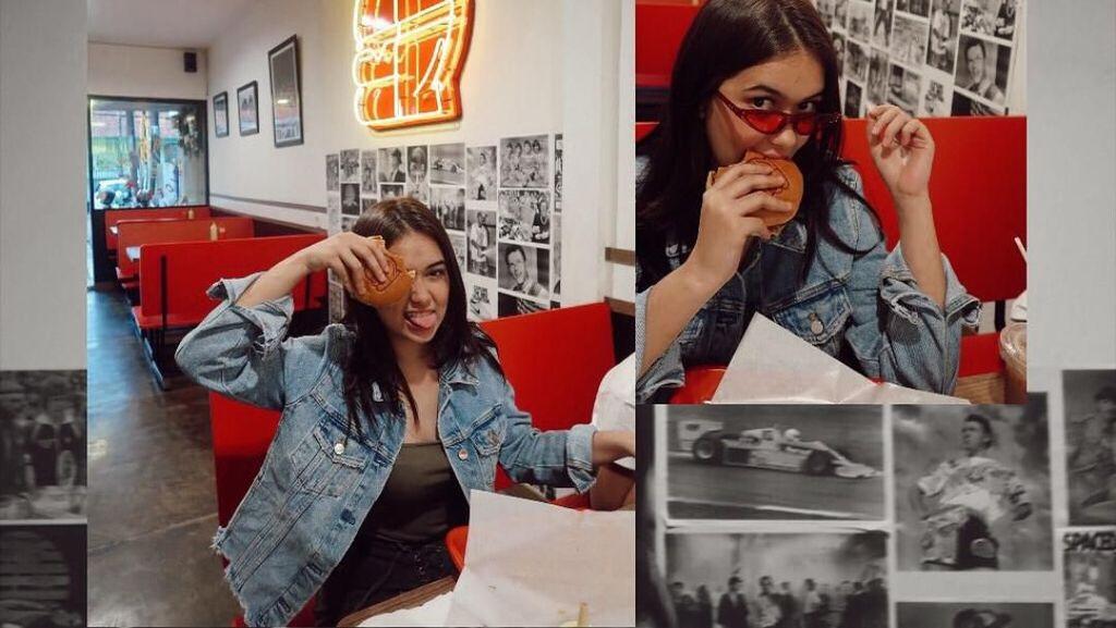 Mirip Yuki Kato, Begini Serunya Rebecca Klopper Saat Makan