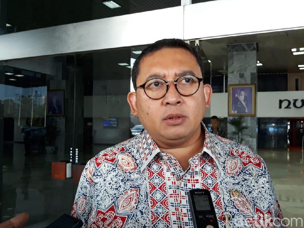 Ada Pos Wakil KSP, Fadli: Jokowi Katanya Mau Efisiensi, Malah Inefisiensi
