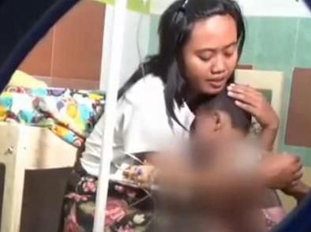 Asyik Bermain, Balita di Ngawi Tersiram Air Panas