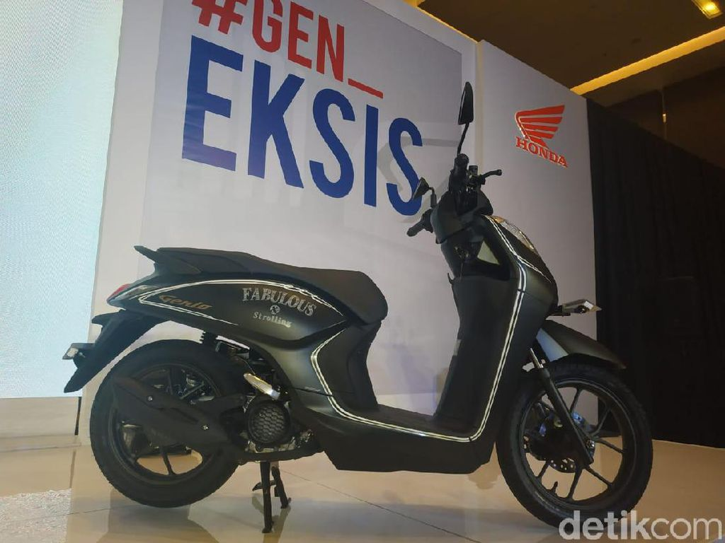 Genio, Skutik Baru Honda Dijual Rp 17 Jutaan