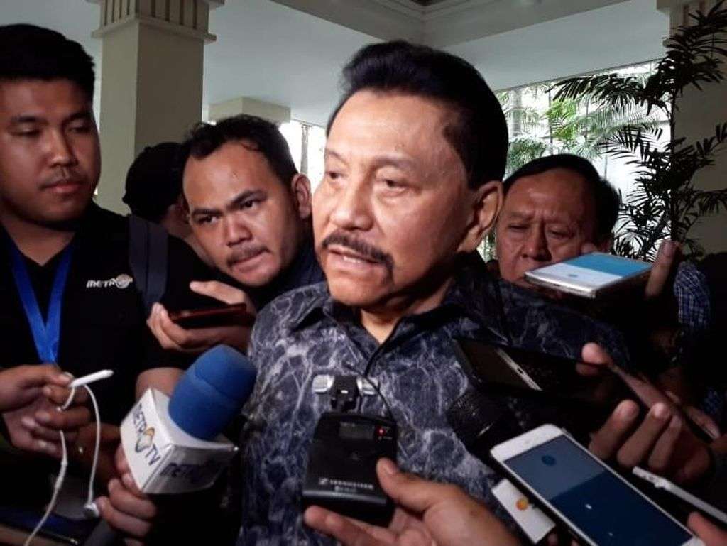 Panglima TNI Jamin Penangguhan Penahanan Soenarko, Hendropriyono: Sah-sah Saja