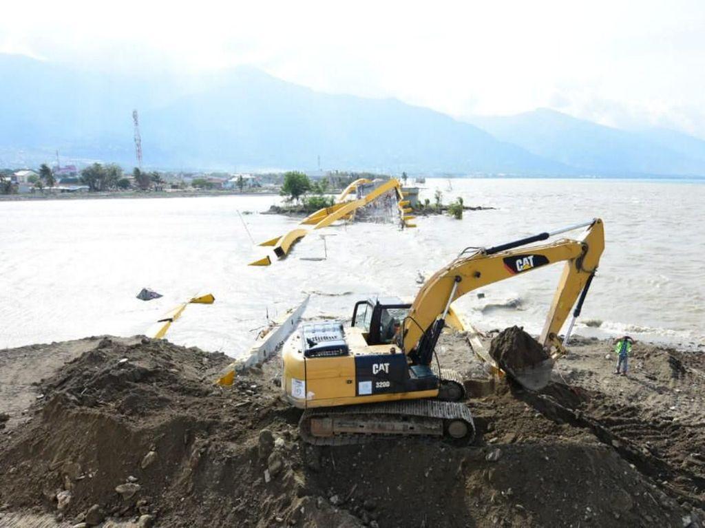 Runtuh Diterjang Tsunami, Jembatan Kuning Palu Dibangun Lagi