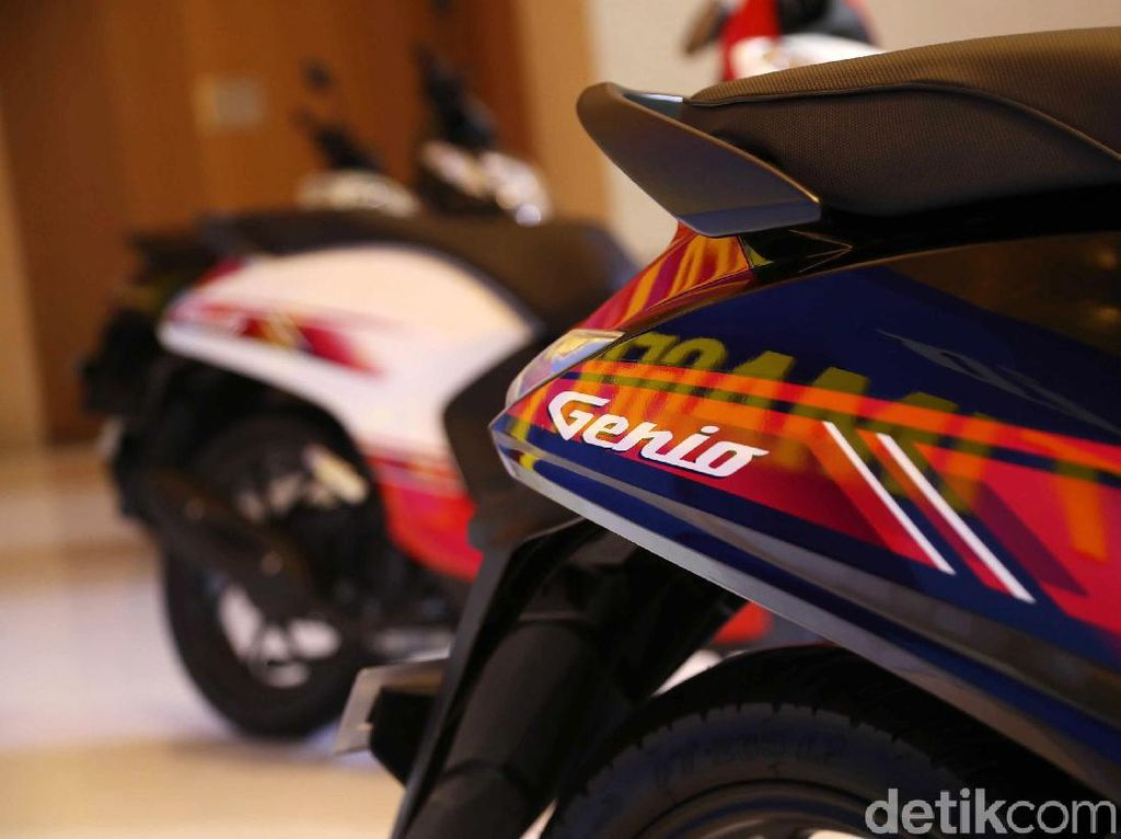 Nama Skutik Honda Genio Mirip Mobil 90-an