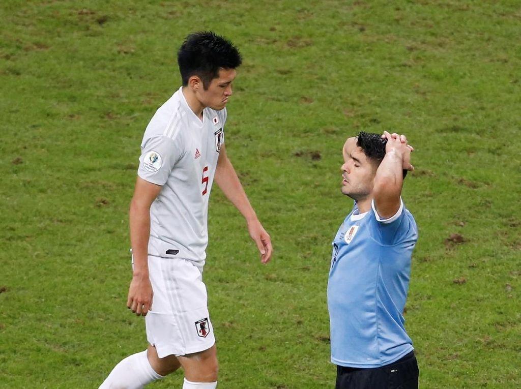 Lengah Lawan Jepang, Uruguay Harus Puas dengan Hasil Imbang