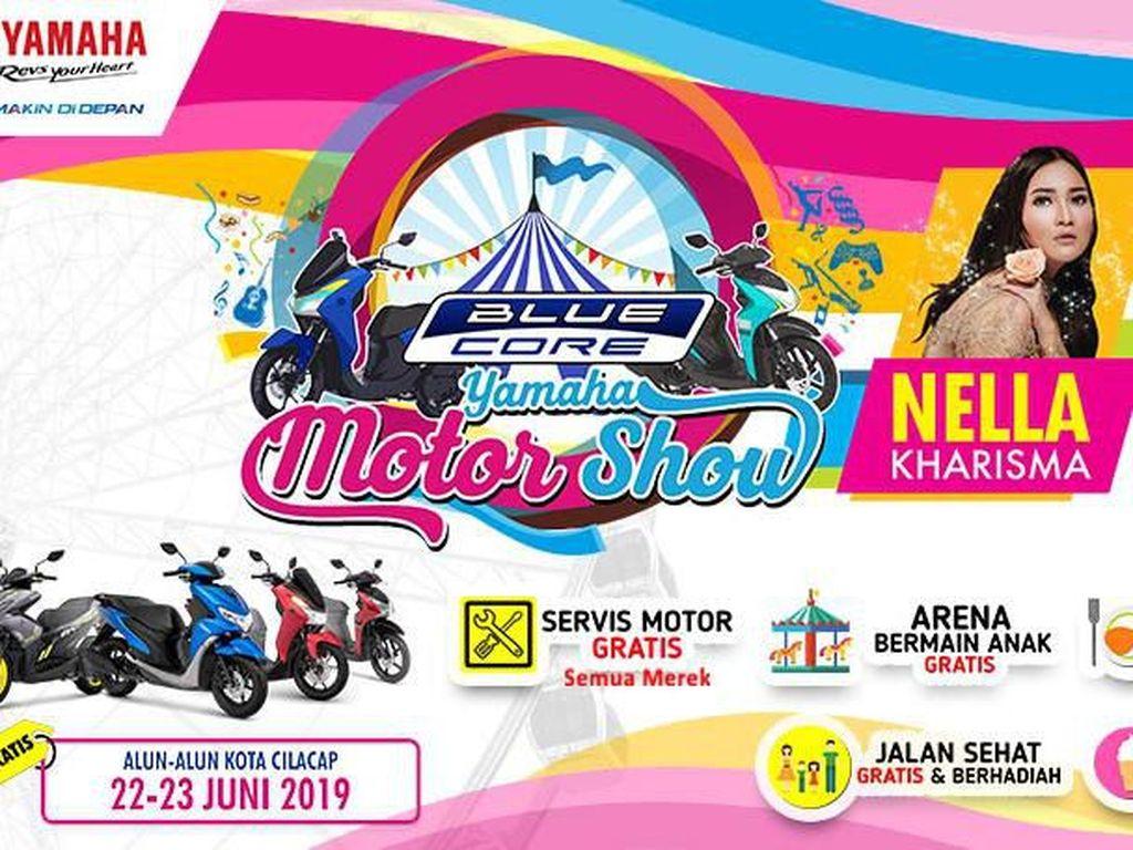 Keseruan Blue Core Yamaha Motor Show Lanjut ke Cilacap dan Palu