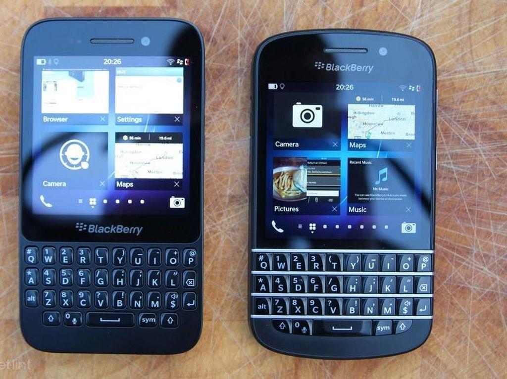 Ponsel BlackBerry Terancam Disuntik Mati