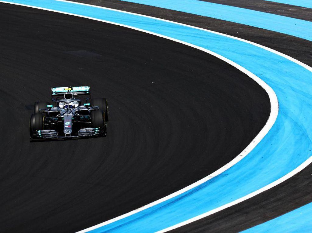 Gantian Bottas Tercepat di FP2 GP Prancis, Hamilton Kedua