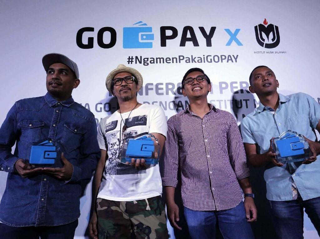 Go-Pay Gandeng Institut Musik Jalanan
