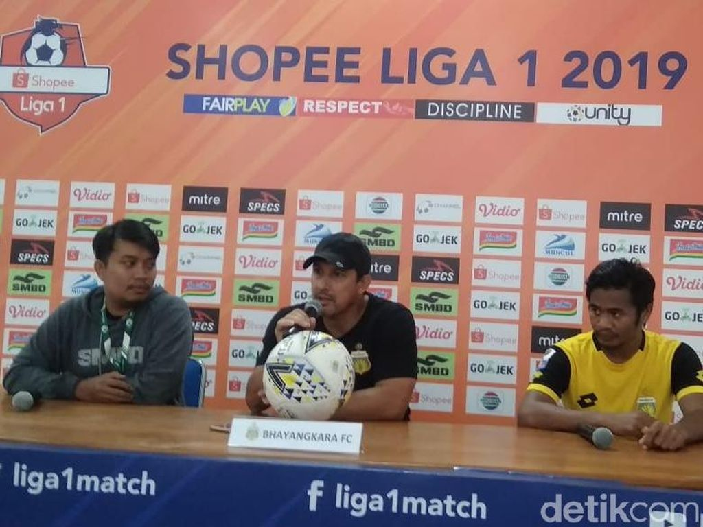 PSS Lawan Sulit, Bhayangkara FC Bakal Berusaha Kontrol Pertandingan