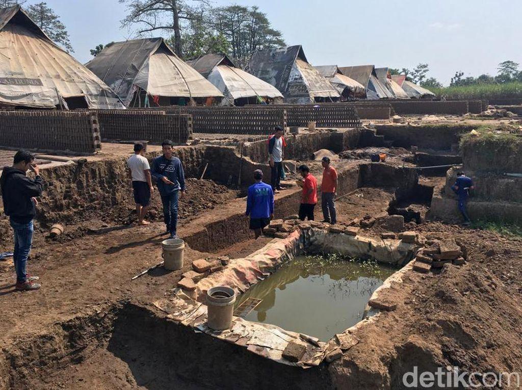 Sisa-sisa Peninggalan Kerajaan Majapahit Ditemukan di Mojokerto