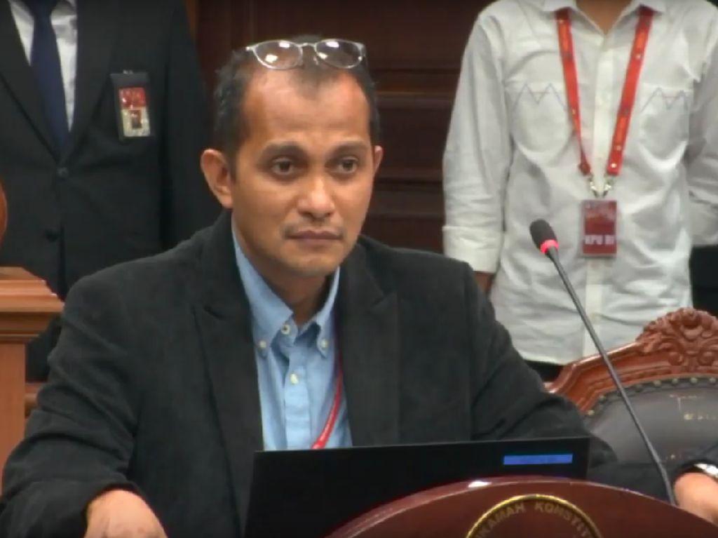 Ahli 01 soal Intel Tak Netral: Tim 02 Harus Hadirkan SBY di MK, Bukan Berita