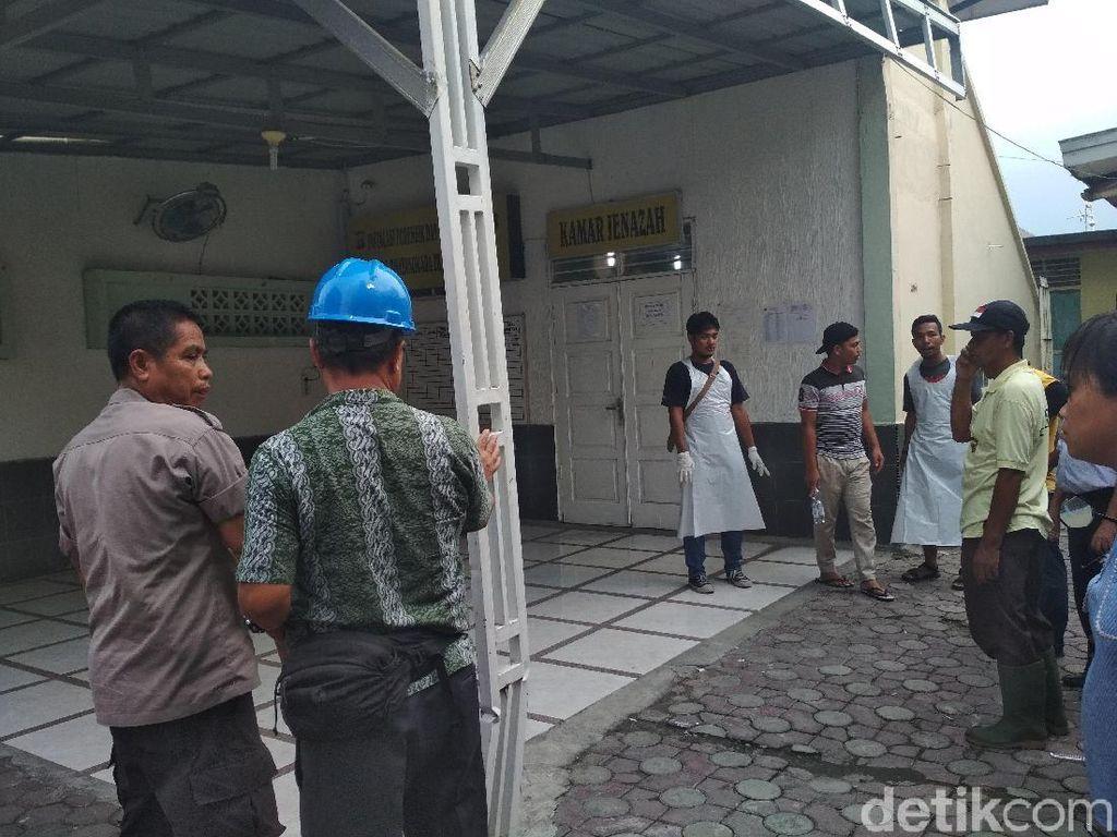 Polisi Amankan Terduga Bos Pabrik Rumahan Korek Gas di Langkat