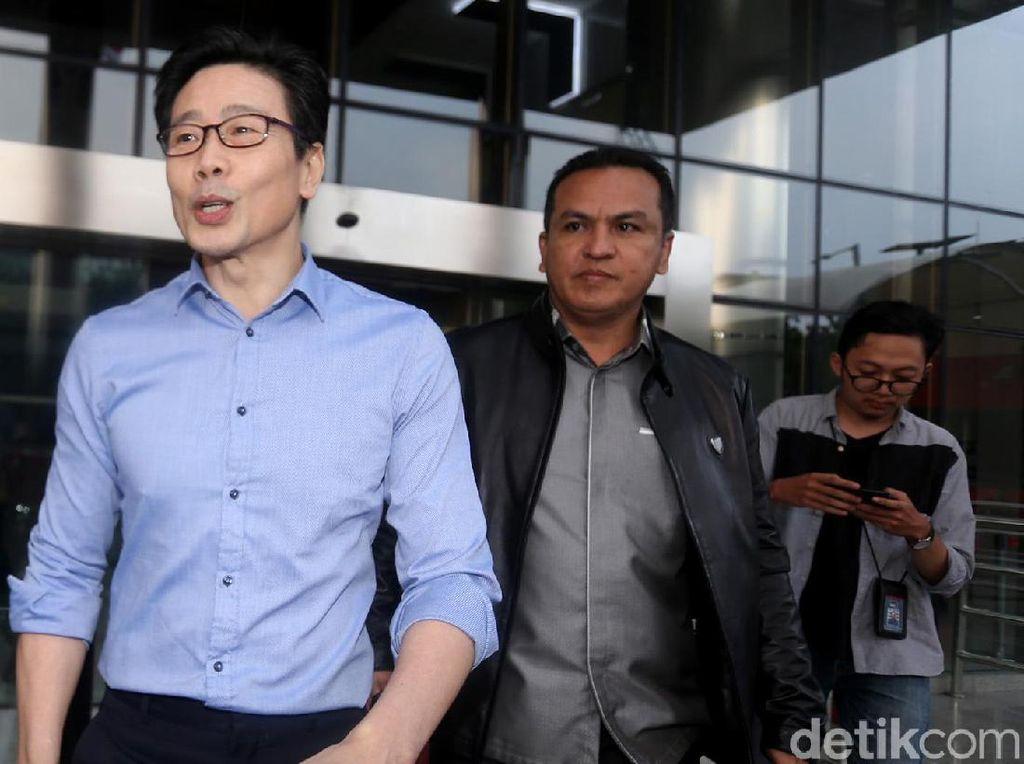 Kembali Diperiksa KPK, Samin Tan Semringah Banget