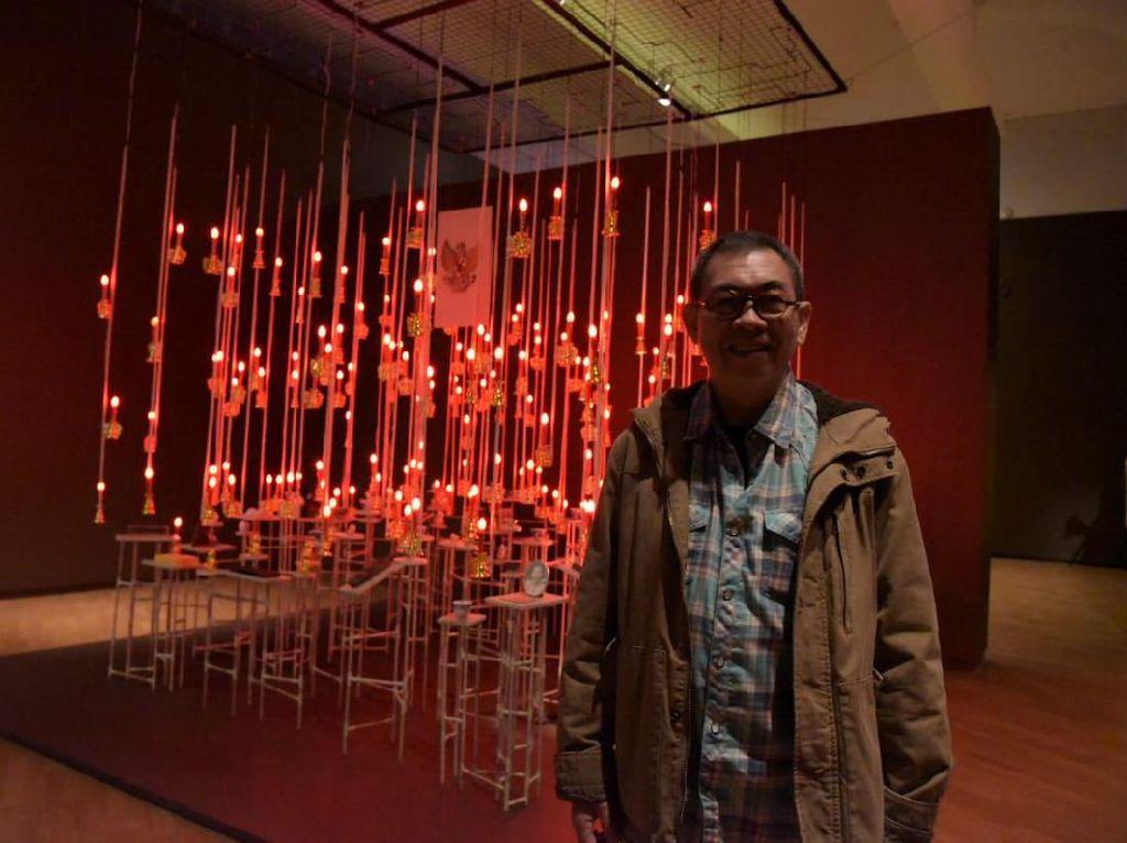 Pamer Karya di Australia, FX Harsono Tampilkan Instalasi Memilukan