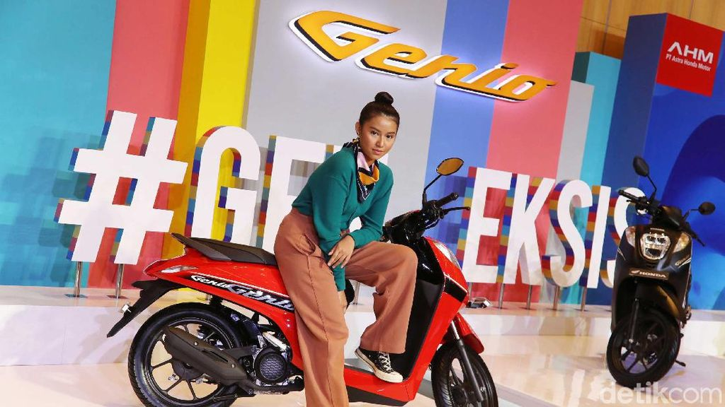 Skutik Anyar Honda Genio, Harga Rp 17 Jutaan
