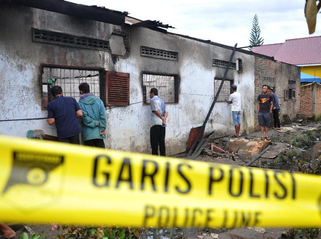 3 Tersangka Kebakaran Pabrik Korek Api di Langkat Ditahan